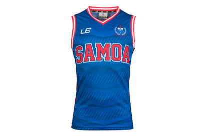 LE Sportswear Samoa 2017 Players Basketball Rugby Singlet