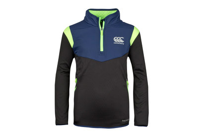 Canterbury Thermoreg Spacer Kids Fleece 1/4 Zip Rugby Training Top