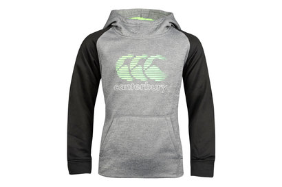 Canterbury Vaposhield Kids Fleece Hooded Rugby Sweat