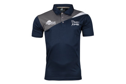 Samurai Sale Sharks 2017/18 Expedition Rugby Polo Shirt