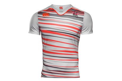 Canterbury England 7s 2017/18 Home Pro S/S Rugby Shirt