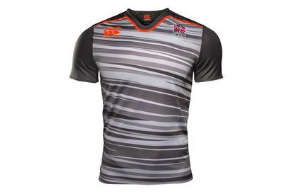 Canterbury England 7s 2017/18 Alternate Pro S/S Rugby Shirt