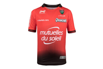 Hungaria Toulon 2017/18 Kids Home S/S Replica Rugby Shirt