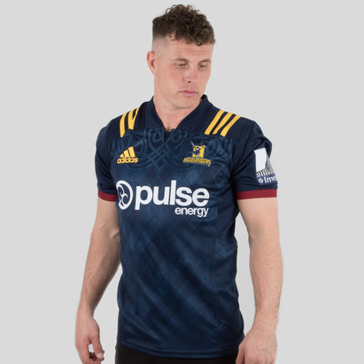 adidas Highlanders 2019 Home Super Rugby S/S Shirt