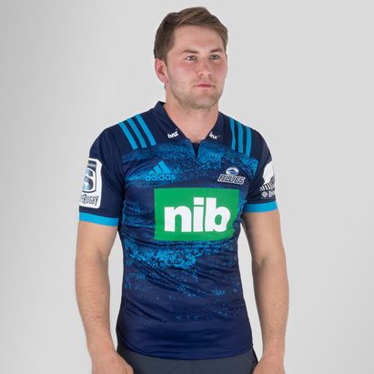 adidas Blues 2019 Alternate Super Rugby S/S Rugby Shirt