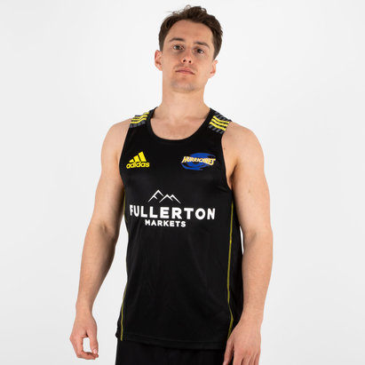 adidas Hurricanes 2018 Players Super Rugby Training Singlet