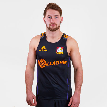 adidas Chiefs 2018 Players Super Rugby Training Singlet