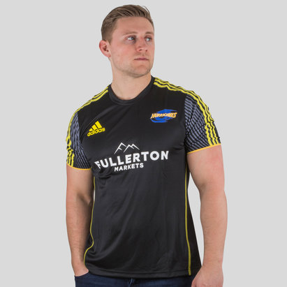 adidas Hurricanes 2018 Players Super Rugby Performance T-Shirt