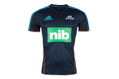 adidas Blues 2019 Players Super Rugby Performance T-Shirt