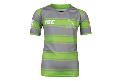 ISC Newcastle Falcons 2017/18 Kids Alternate S/S Replica Rugby Shirt