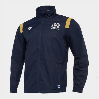 Macron Scotland 2020/21 Full Zip Waterproof Jacket