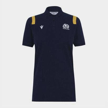 Macron Scotland Polo Shirt Ladies