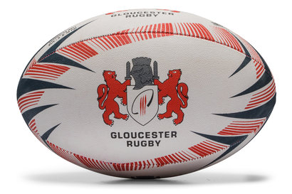 Gilbert Gloucester Replica Rugby Ball