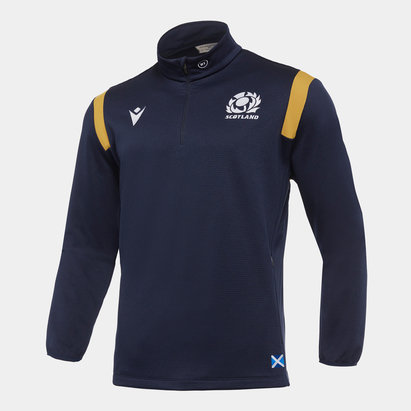 Macron Scotland Quarter Zip Fleece Mens