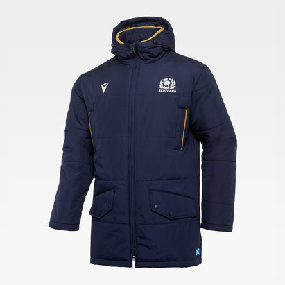 Macron Scotland 2020/21 Long Travel Puffa Jacket