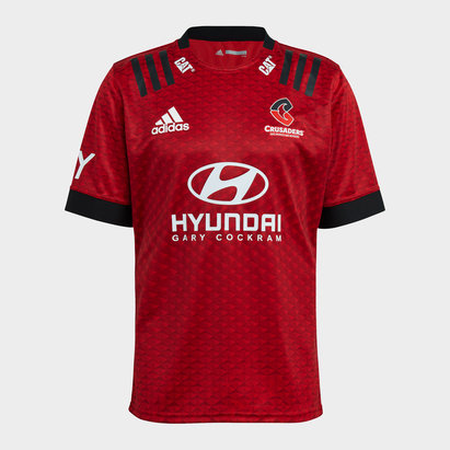 adidas Crusaders Home Rugby Shirt 2021