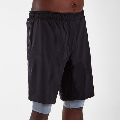 adidas CrazyTrain 2 in 1 Training Shorts
