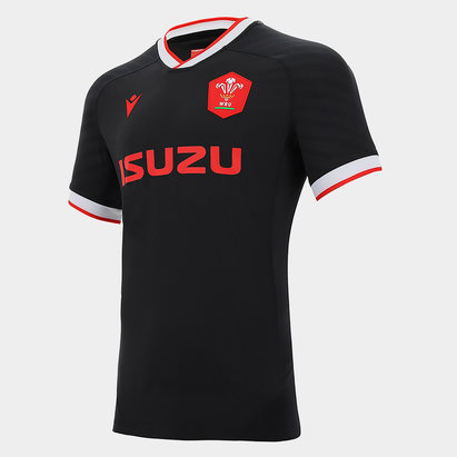 Macron Wales Alternate Authentic Shirt 2020 2021