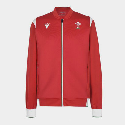 Macron Wales Anthem Jacket 2020 2021 Mens