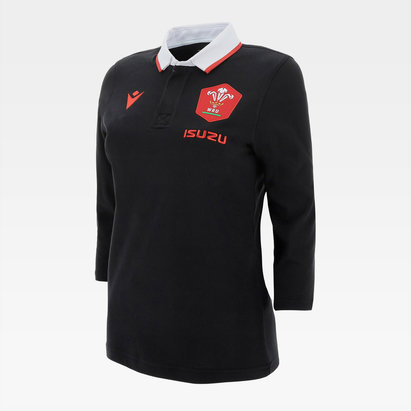 Macron Wales Alternate Classic Shirt 2020 2021 Ladies