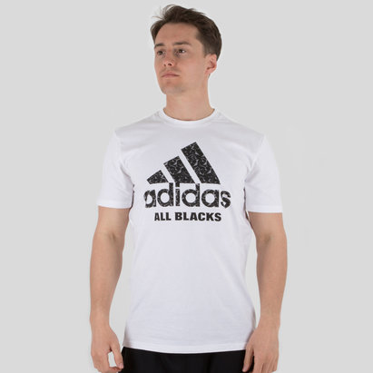 adidas New Zealand All Blacks 2018 Graphic Rugby T-Shirt