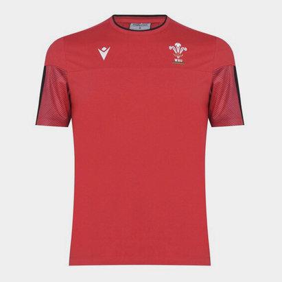 Macron Wales Travel T-Shirt Mens