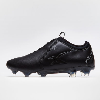 X Blades Jet K Leather FG Rugby Boots