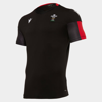 Macron Wales Rugby Training Top Mens