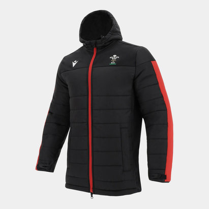 Macron Wales Long Padded Jacket Mens