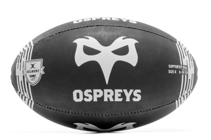Ospreys Home Supporters Rugby Ball