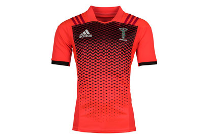 adidas Harlequins 2017/18 S/S Rugby Training Shirt