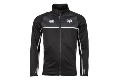 Canterbury Ospreys 2017/18 Full Zip Thermal Layer Rugby Fleece