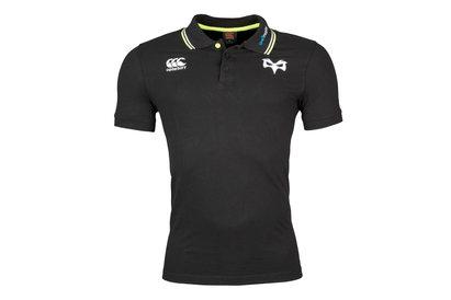 Canterbury Ospreys 2017/18 Vapodri Cotton Pique Rugby Polo Shirt
