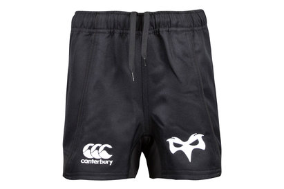 Canterbury Ospreys 2017/18 Home & 3rd Kids Replica Rugby Shorts