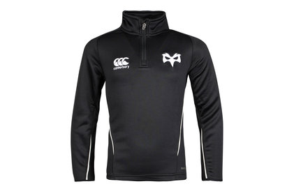 Canterbury Ospreys 1/4 Zip Kids Rugby Mid Layer