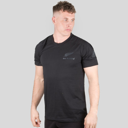 adidas New Zealand All Blacks 2018 Players Cotton T-Shirt