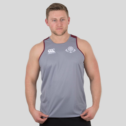 Canterbury Georgia 2018/19 Players Rugby Training Singlet