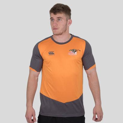 Canterbury Cheetahs 2018 Players Rugby Training T-Shirt