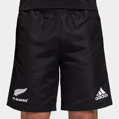 adidas New Zealand All Blacks 2018 Woven Rugby Shorts