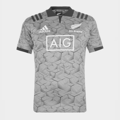adidas All Black Rugby Replica Training Top Mens