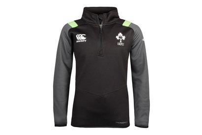 Canterbury Ireland IRFU 2017/18 Kids Thermoreg 1/4 Zip Rugby Training Top