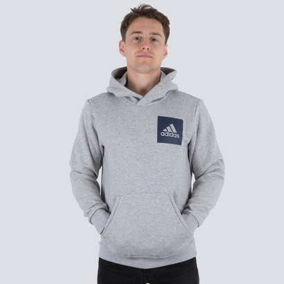 adidas Essential Box Logo Hooded Sweat