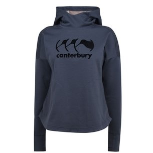 Canterbury Vapodri Ladies Fleece Hooded Rugby Sweat