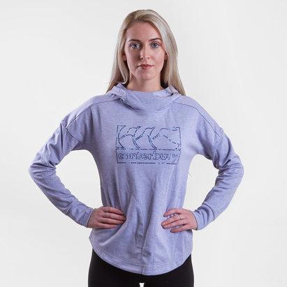 42ba89c5a99 Canterbury Vapodri Ladies Fleece Hooded Sweat