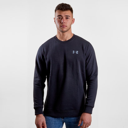 Under Armour Armour Rival Crew Neck Sweatshirt Mens