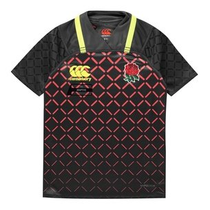 Canterbury England 7s 2018/19 Kids Alternate Pro S/S Shirt