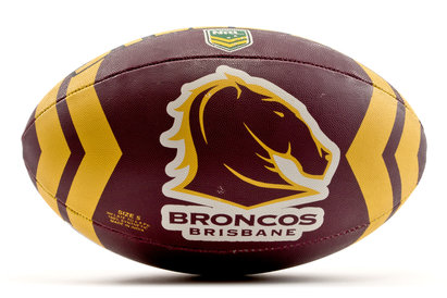 Steeden Brisbane Broncos NRL Rugby League Ball