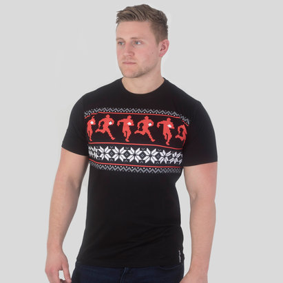 Rugby Division Rugby Graphic Christmas T-Shirt