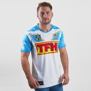 Classic Sportswear Gold Coast Titans 2018 NRL Alternate S/S Rugby Shirt