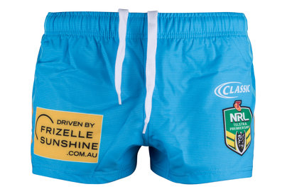 Classic Sportswear Gold Coast Titans 2018 NRL Home Rugby Shorts